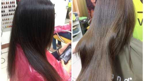 Декапирование волос смывка