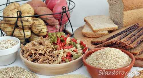 Список белковых и углеводных продуктов для