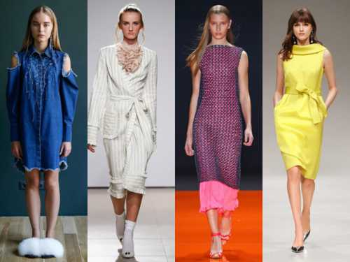 Модные повседневные платья на лето 2018