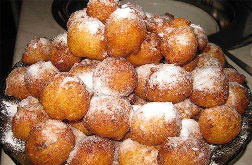 Рецепт творожных пончиков, секреты выбора