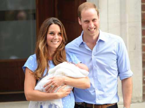 Принц Уильям и Кейт Миддлтон дали имя своему наследнику