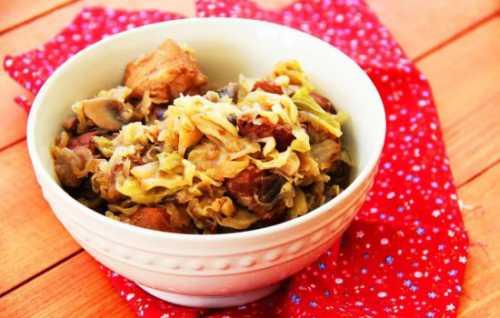 Рецепты бигуса из свежей капусты: секреты выбора