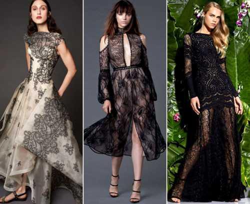 Модные платья 2017: тренды уходящего года