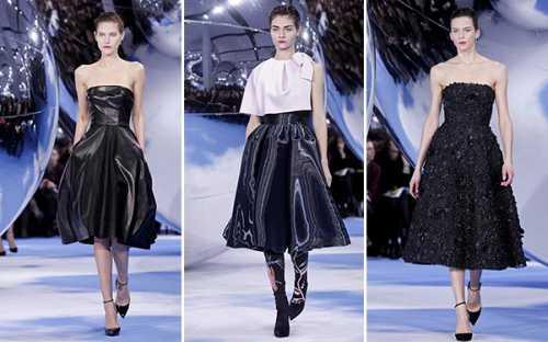 Мирный протест: показ Christian Dior осень