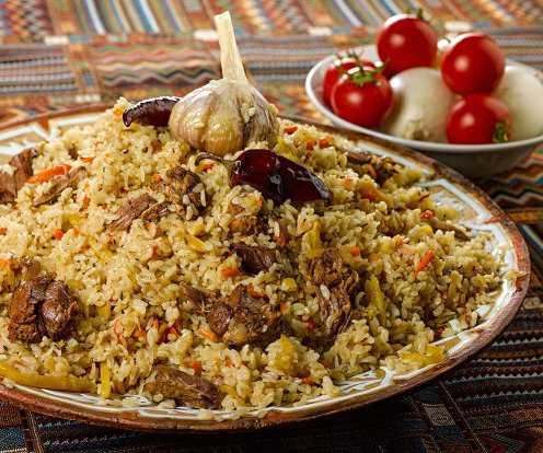 Рецепты плова узбекского со свининой: секреты