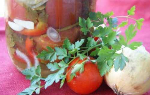 Узнай как приготовить огонёк из помидоров на