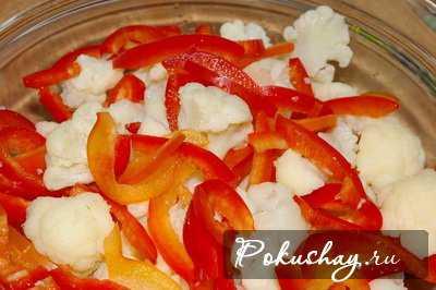 Рецепты салата из цветной капусты на зиму,