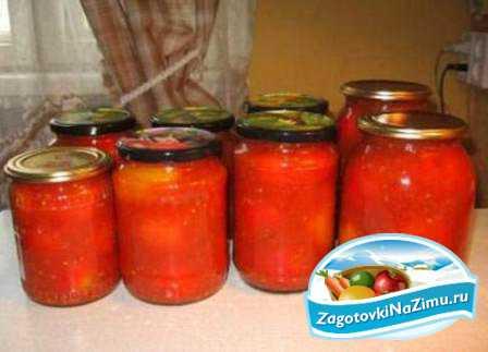 Узнай рецепт фаршированных помидоров на зиму,