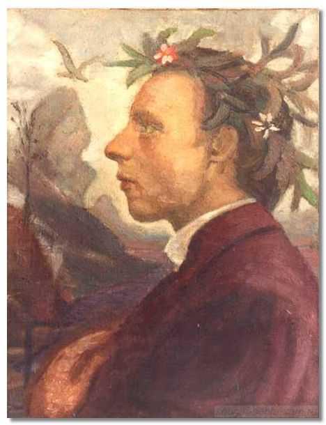 Были возложены цветы к дереву