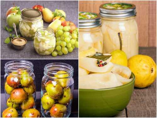 Приготовить груши на зиму простой рецепт с фото