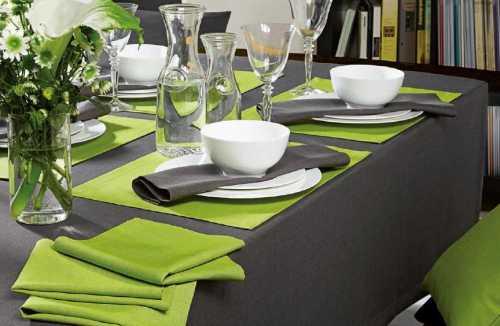Столовое белье для праздничного стола