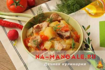 Рецепты жаркого из мяса и картошки, секреты